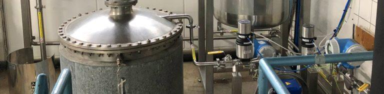 Opgradering af system til acetoneoprensning